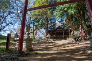 新府城跡 藤武稲荷神社