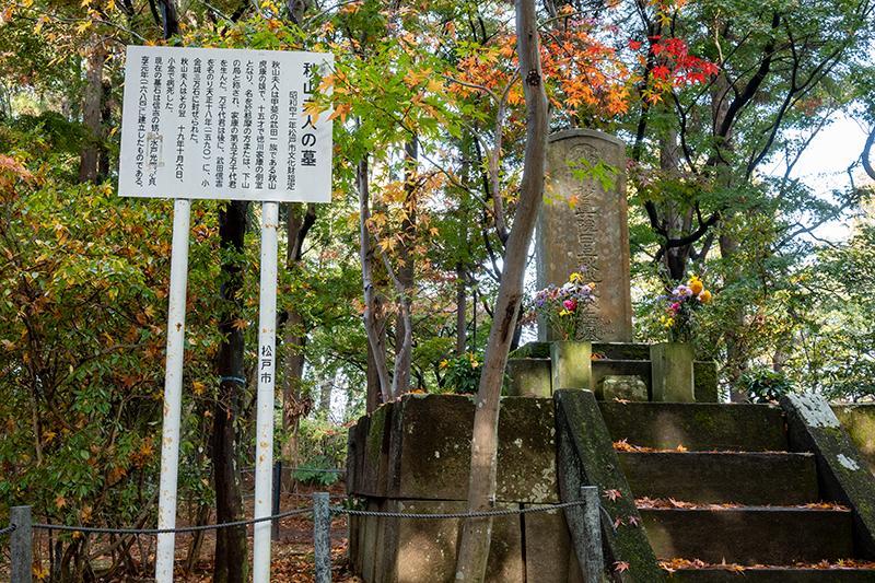 秋山夫人の墓